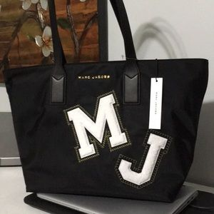 NWT Marc Jacobs Varsity Letter Tote